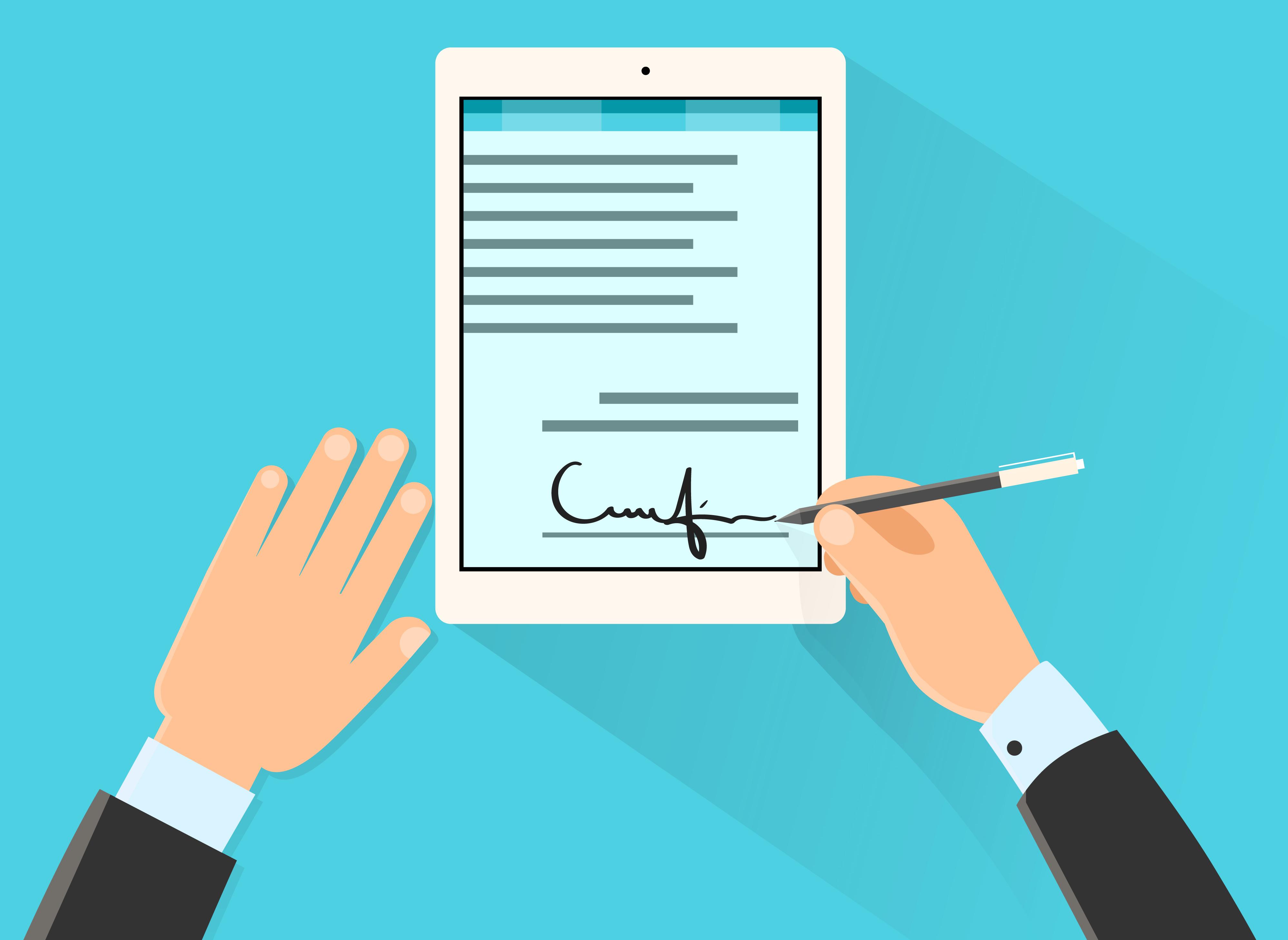 Comissão Aprova Mesmo Valor Legal Para Documentos Físico