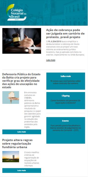 Informe Notarial Baiano Edição Nº 45