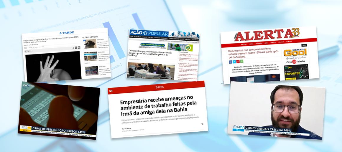 Atas Notariais Aumentam Em Quase 150% Na Bahia Após Lei Do Stalking, Veja Repercussão Na Imprensa Baiana