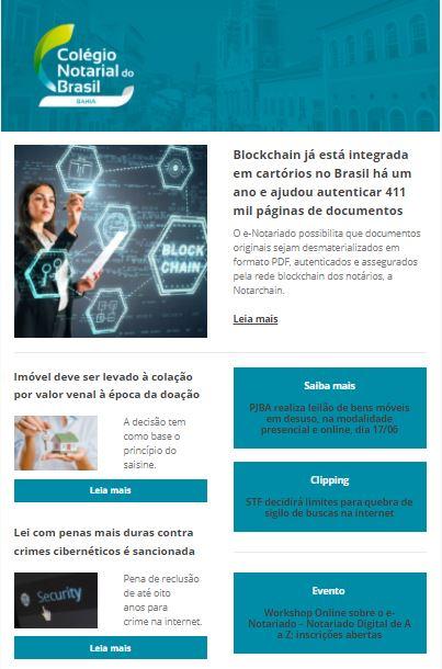 Informe Notarial Baiano Edição Nº 60