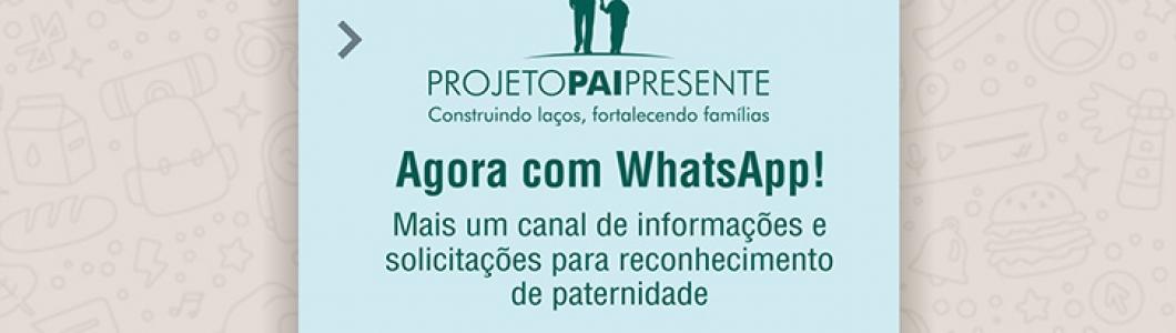317ef2503533be TJ/BA: Projeto Pai Presente inicia atendimento também por whatsapp ...